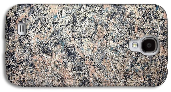 Washington D.c Galaxy S4 Case - Pollock's Number 1 -- 1950 -- Lavender Mist by Cora Wandel