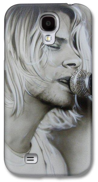 Kurt Cobain - ' Polly ' Galaxy S4 Case by Christian Chapman Art