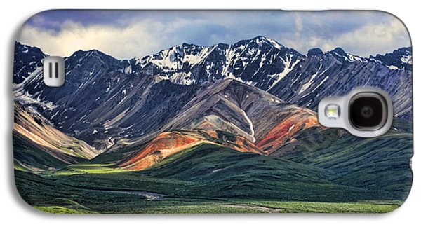 Mountain Galaxy S4 Case - Polychrome by Heather Applegate
