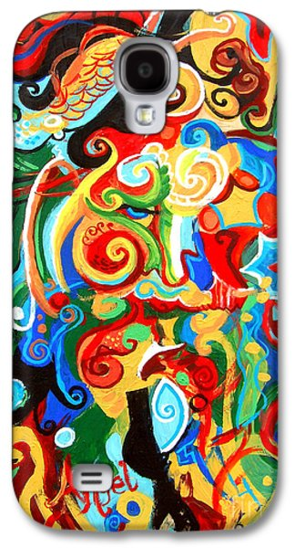 Polynomial Name God Phase 2 Galaxy S4 Case by Genevieve Esson