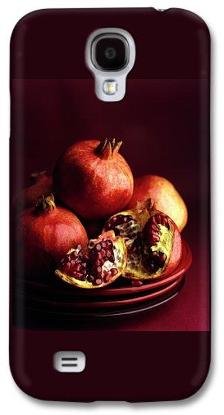 Pomegranates Galaxy S4 Case by Romulo Yanes