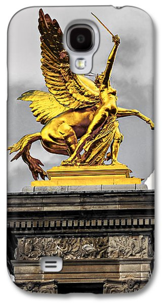Pont Alexander IIi Fragment In Paris Galaxy S4 Case by Elena Elisseeva