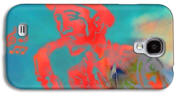 Pop Art Jazz Man Galaxy S4 Case by Dan Sproul