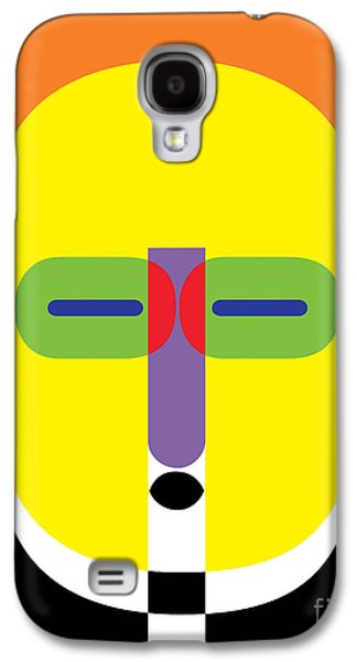 Pop Art People 11 Galaxy S4 Case by Edward Fielding