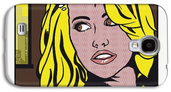 Pop Art Porn Stars - Mia Malkova Galaxy S4 Case by Chungkong Art