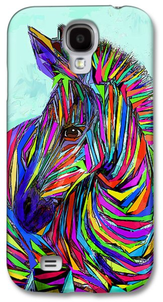 Pop Art Zebra Galaxy S4 Case