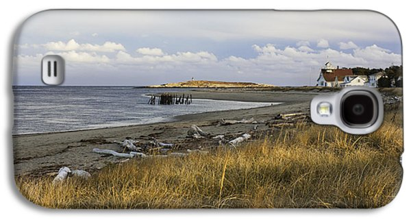 Popham Beach On The Maine Coast Galaxy S4 Case by Keith Webber Jr