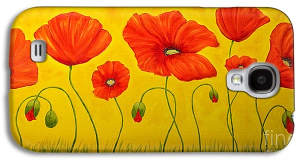 Poppies At The Time Of Galaxy S4 Case