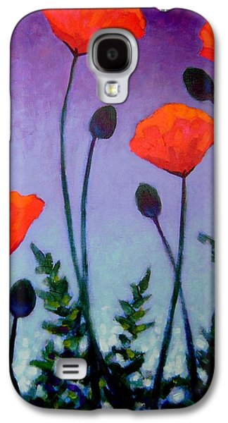 Poppies In The Sky II Galaxy S4 Case by John  Nolan