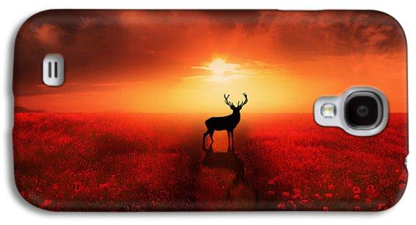 Poppy Field Dreams Galaxy S4 Case by Jennifer Woodward