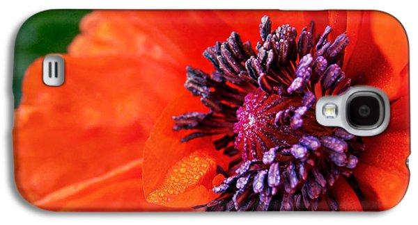 Poppy's Purple Passion Galaxy S4 Case