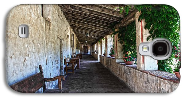 Porch On Carmel Mission Galaxy S4 Case