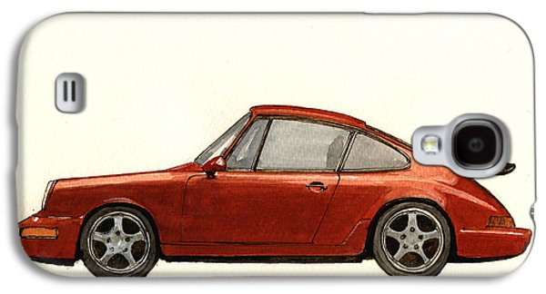 Porsche 911 964 Rs Galaxy S4 Case by Juan  Bosco