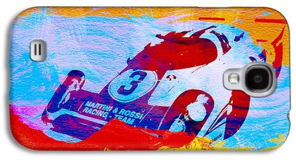 Porsche 917 Martini And Rossi Galaxy S4 Case by Naxart Studio