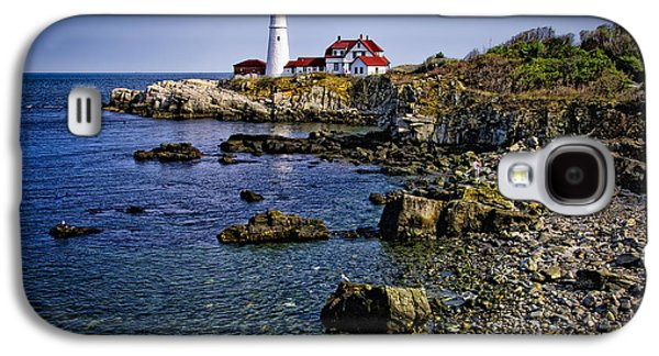 Portland Headlight 36 Galaxy S4 Case by Mark Myhaver