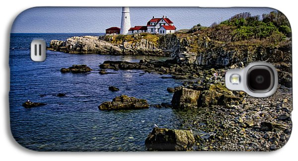 Portland Headlight 37 Oil Galaxy S4 Case by Mark Myhaver