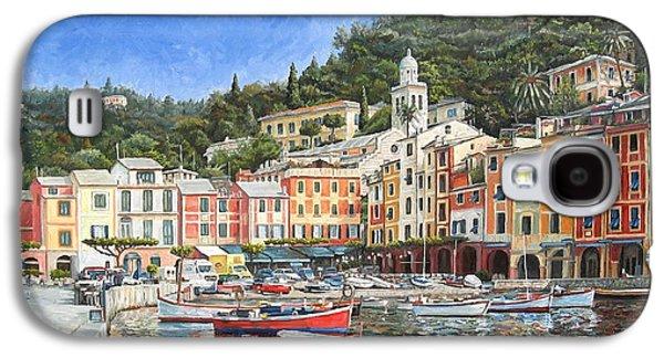 Portofino Italy Galaxy S4 Case by Mike Rabe