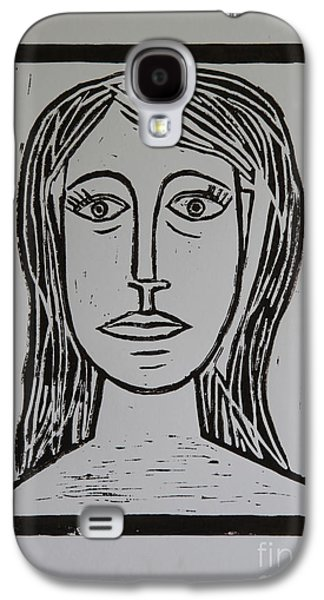 Portrait A La Picasso Galaxy S4 Case