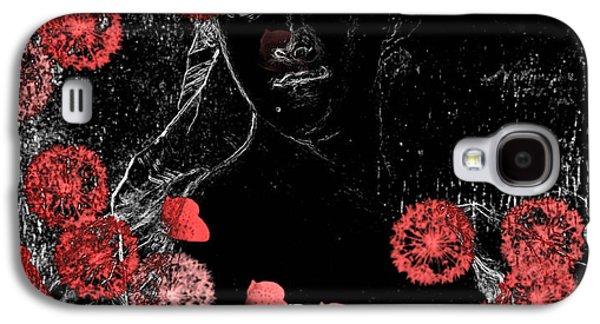 Portrait In Black - S0201b Galaxy S4 Case