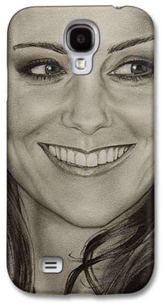 Portrait Kate Middleton Detail Galaxy S4 Case