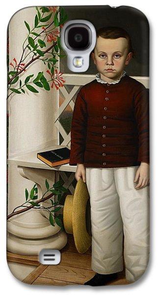 Portrait Of A Boy Galaxy S4 Case