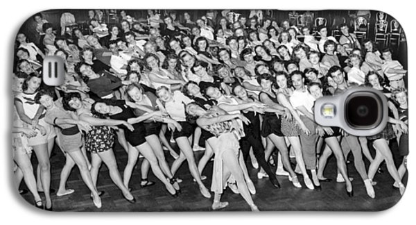 Portrait Of A Dance Group Galaxy S4 Case by Underwood Archives