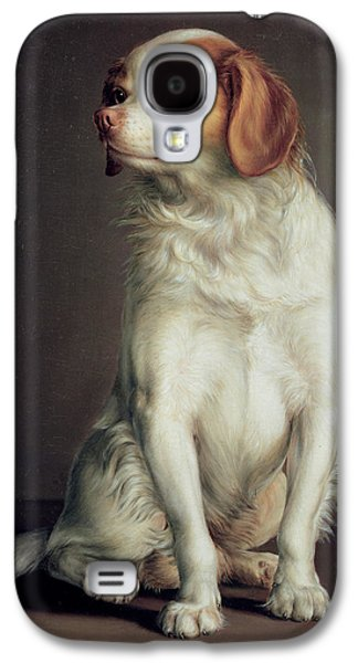 Portrait Of A King Charles Spaniel Galaxy S4 Case by Louis Leopold Boilly