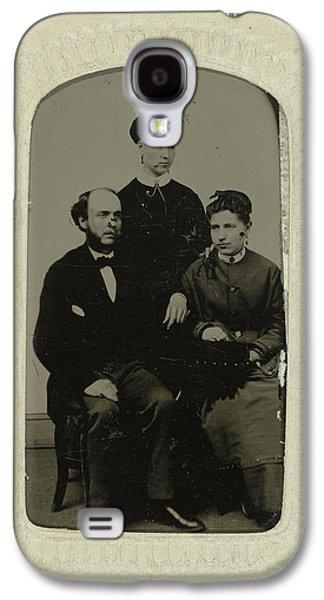 Portrait Of A Man And Two Women, Jordan Bros Ferro Type Galaxy S4 Case
