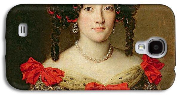 Portrait Of A Woman Galaxy S4 Case by Jacob Ferdinand Voet