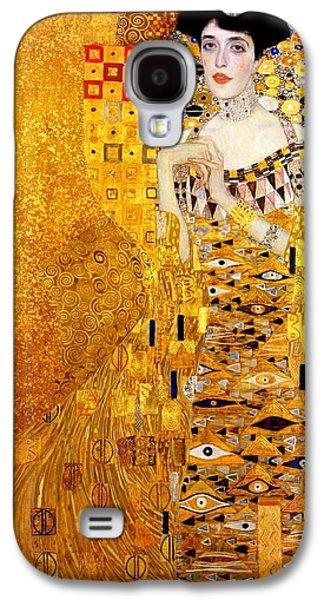 Portrait Of Adele Bloch-bauer Galaxy S4 Case by Gustav Klimt