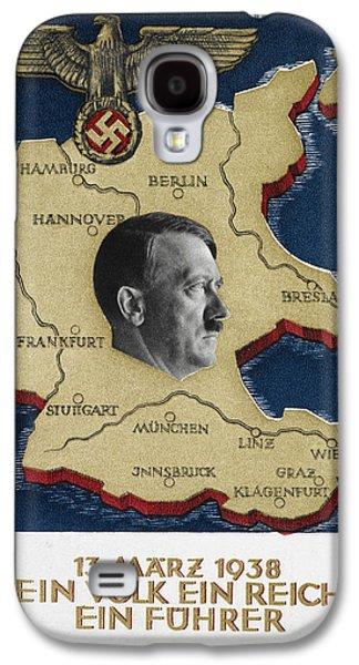 Portrait Of Adolf Hitler Galaxy S4 Case
