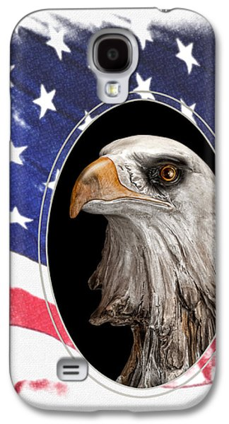 Eagle Galaxy S4 Case - Portrait Of America by Tom Mc Nemar