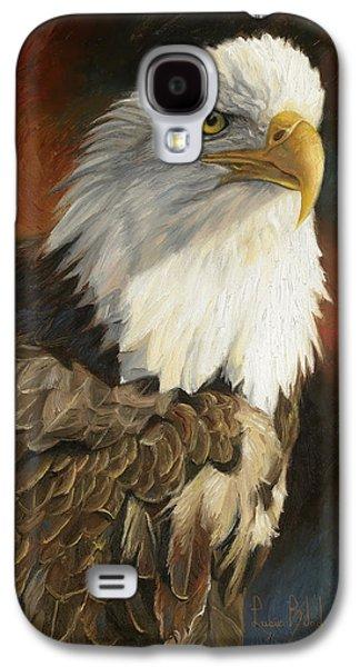 Portrait Of An Eagle Galaxy S4 Case by Lucie Bilodeau