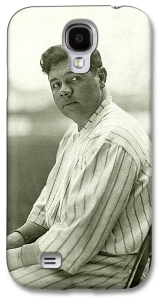 Portrait Of Babe Ruth Galaxy S4 Case by Nicholas Muray
