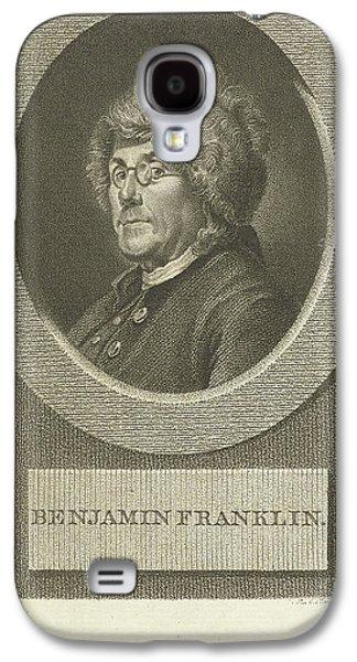 Portrait Of Benjamin Franklin, Lambertus Antonius Claessens Galaxy S4 Case by Lambertus Antonius Claessens