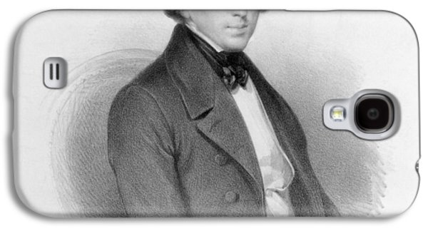 Portrait Of Frederic Chopin Galaxy S4 Case by Ary Scheffer