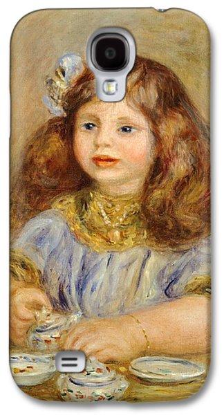 Portrait Of Genevieve Bernheim De Villiers Galaxy S4 Case by Pierre-Auguste Renoir