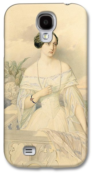 Portrait Of Grand Duchess Olga Nikolaevna Galaxy S4 Case by Vladimir Ivanovich Hau