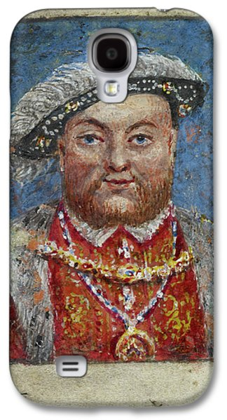 Portrait Of Henry Viii Galaxy S4 Case by British Library