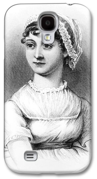 Portrait Of Jane Austen Galaxy S4 Case by English School