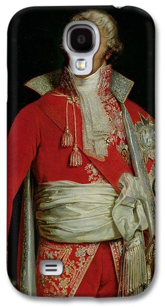 Portrait Of Joseph Fouche Duke Of Otranto Galaxy S4 Case by Edouard Louis Dubufe