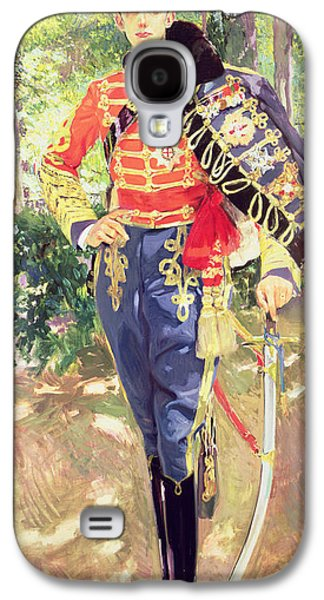 Portrait Of King Alfonso Xiii  Galaxy S4 Case by Joaquin Sorolla y Bastida