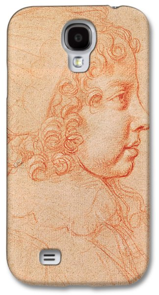 Portrait Of Louis Xiv As A Child Red Chalk On Paper Galaxy S4 Case by Philippe de Champaigne