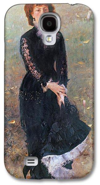 Portrait Of Madame Edouard Pailleron Galaxy S4 Case