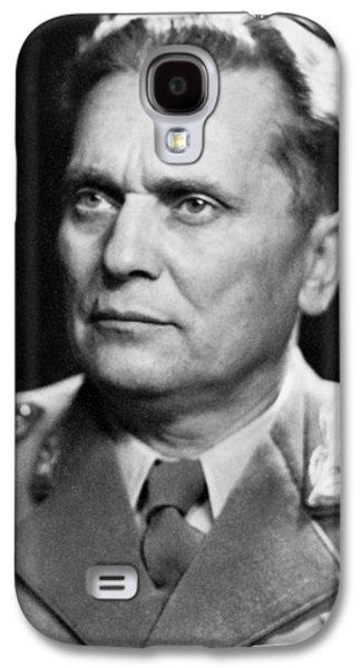 Portrait Of Marshal Tito Galaxy S4 Case