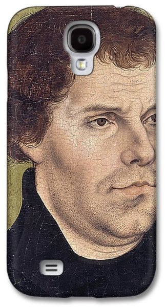 Portrait Of Martin Luther Aged 43 Galaxy S4 Case by Lucas Cranach