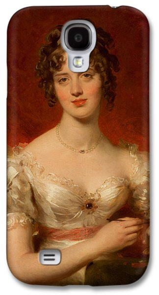 Portrait Of Mary Anne Bloxam Galaxy S4 Case by Thomas Lawrence