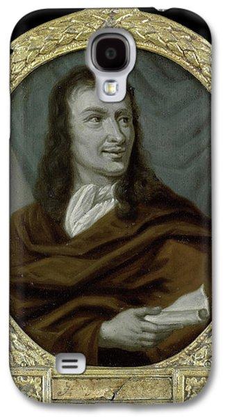 Portrait Of Pieter Verhoek, Poet And Marble Painter Galaxy S4 Case