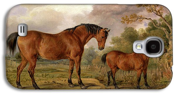 Portrait Of Reformer, Blucher, Tory And Crib Galaxy S4 Case by Litz Collection