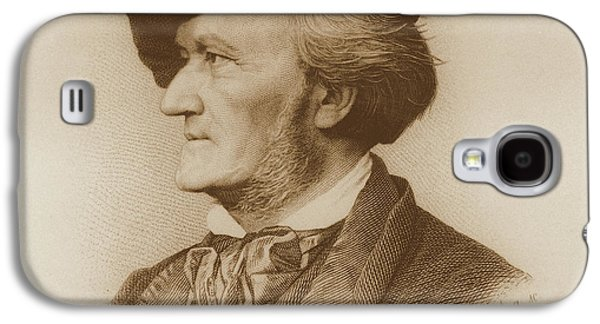 Portrait Of Richard Wagner German Galaxy S4 Case